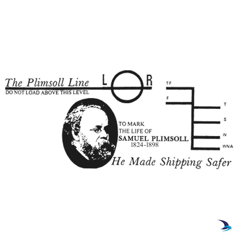 Nauticalia Whisky Tumbler Plimsoll Line